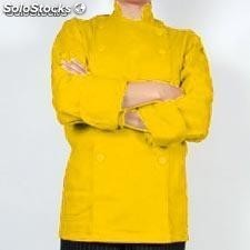 Filipina chica para chef en color amarillo