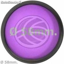 Filter FLD fluorescent light photography lens of 58 mm for (EG34)