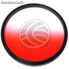 Filter gradual red color photographic lens of 77 mm (JN06)