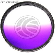 Filter gradual violet colored photograph for target of 62 mm (JN33)