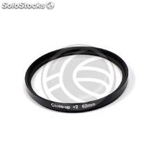 Filter macro photographic +2 for 62mm target (JM43)