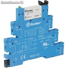 Finder 38.81 rele Modular e/24Vdc s/24VDC carril