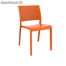 Fiona chair orange