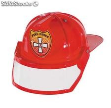 Fire chief adult size pvc helmet