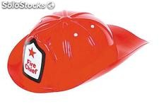 Fire chief child pvc helmet