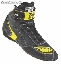 First evo zapatillas omp antracita/amarillo talla 44