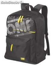 """first"" sportswear backpack negro"