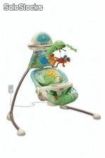 Fisher-Price Rainforest Open-Top Cradle Swing