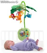 Fisher-Price Rainforest Peek-a-Boo Blätter Musik-Mobile