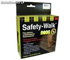 Fita antiderrapante Neon 50mmX5m Safety Walk 3M