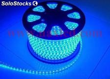 Fita led 5050 smd 220v azul,100m/roll