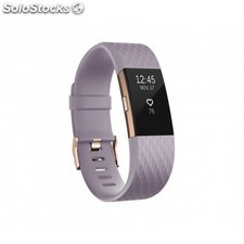 Fitbit - Charge 2 Wristband activity tracker OLED Inalámbrico Oro, Rosa