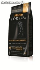 Fitmin for life perro junior large breeds 15 kg.