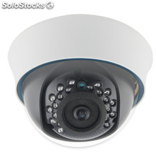 Fixed Dome Camera Plastic Dome Camera Longse LCDNF20AD100V 720P, With ir-cut 3D