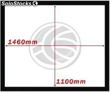 Fixed projection screen 4:3 1460x1100mm wall DisplayMATIC (OT32)