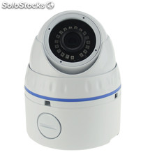 Fixed Vandalproof ir Dome ip Cameras Longse LIRDNS130 2MP hd Lens With ir-cut