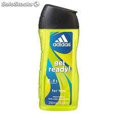 Flacon 250ML deodorant grand get ready adidas