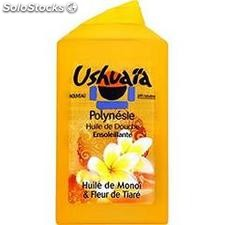 Flacon 250ML douche polyn.monoi nacre ushuaia