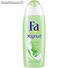 Flacon 250ML douche yoghourt aloe vera fa