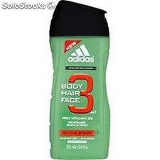 Flacon 250ML gel douche activ start adidas