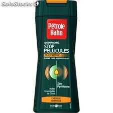 Flacon 250ML shampoing anti pelliculaire cheveux normaus petrole hahn