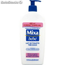 Flacon 400ML lait toilette mixa bebe