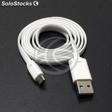 Flat Cable usb 2.0 a-Male-reversible Micro usb-male (US89)