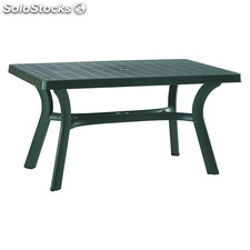Flavia rectangular table green
