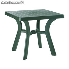Flavia square table green