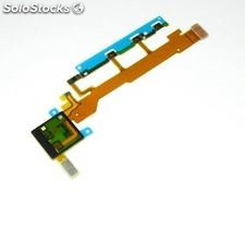 Flex Encendido On / Off, Volumen y Microfono para Sony Xperia Z L36H C6602,