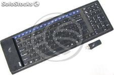 Flexible Keyboard USB 126 keys black and multimedia wireless (KF41)