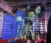 Flexible led Curtain Display,Slim,Lightweight, transparent and hollow