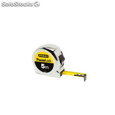 Flexometro Powerlock - Stanley - 0.33.552 - 5Mtx19 Mm