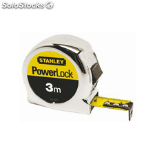 Flexometro Powerlock - Stanley - 1.33.522 - 3Mtx19 Mm