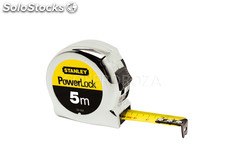 Flexometro powerlock stanley 5MTX19 mm