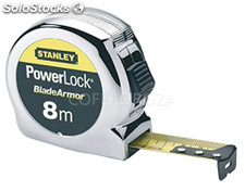 Flexometro powerlock stanley 8MTX25 mm