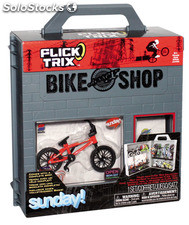 Flick trix display case + bike (3 unid.)