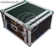 Flight Case 06U Shock-Proof 19 inch F700 RackMatic (MC22)