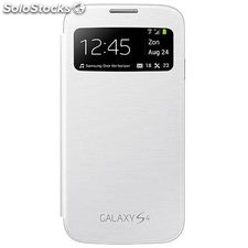 Flip Cover samsung s-view Cover S4 blanca