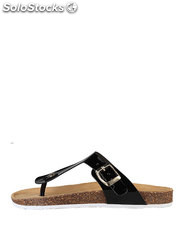 flip flops mujer ana lublin negro (35939)