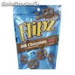 Flipz milk chocolate pretzels 141G