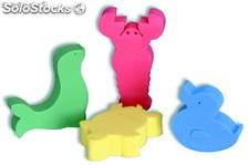 floating animals game