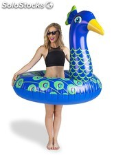 Flotador hinchable pavo real