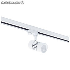 Foco carril blanco Trade LED 25W 3000K 2000Lm