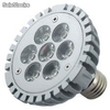 Foco de leds superbrillantes - ML-LAMP7X1W - Foto 1