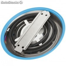 Foco de piscina de leds montaje superficie 230mm 9w luz: blanco natural blanco