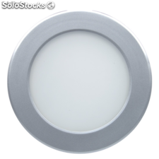 Foco Downlight led 20w extraplano Gris