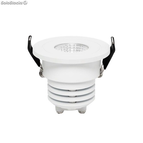 Foco empotrable redondo mini blanco DotFix LED 5W 2700K 400Lm
