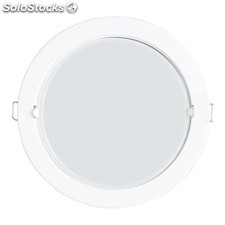Foco iluminacion lightbox downlight led empotrable redondo tiber 6400K-bl E27