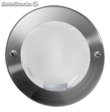 Foco iluminacion lightbox downlight led empotrable redondo tiber 6400K-cr E27